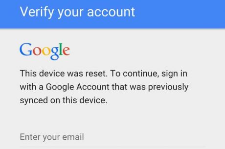this-device-was-reset.-to-continue-sign-in-with-a-google-account-that-was-previously-synced-on-this-device